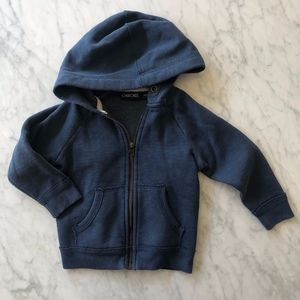 Cute and Cozy Heathered Blue Hoodie